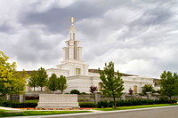 Columbia River Temple - Storm