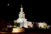 Columbia River Temple - Night