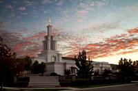 Columbia River Temple - Sunset