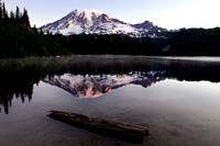 Mt Rainier at Sunrise